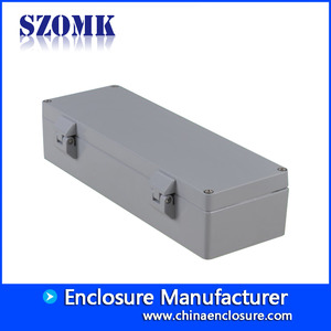 China Outdoor Use IP66 Die Cast Aluminum Waterproof Project Box for Electronics /AK-AW-87 factory