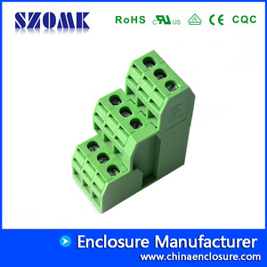 China PCB screw terminal block connectors   AK522-5.08 factory
