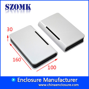 China plastic housing mould manufacturer for electronics products sozmk wifi enclosures AK-NW-03 160x100x30mm factory