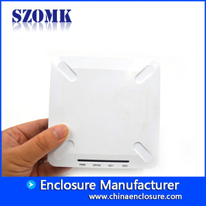 China Plastic Enclosure WIFI Box electronics Network case AK-NW-05/120x120x25mm factory