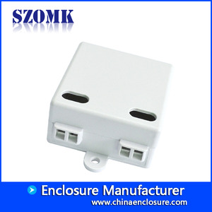 China SZOMK ABS plastic enclosure Led driver case for electronics AK-16 42*40*21mm factory