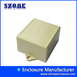 China SZOMK ABS plastic wall mounting enclosures for PCB and GPS AK-W-52 104x72x45 mm factory