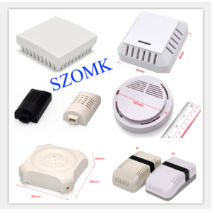 China SZOMK Different types of electronic design electronic sensor housings customized for housing humidity / temperature / smoke detectors factory