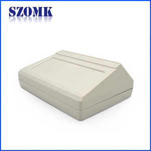 China SZOMK Desktop enclosure ABS plastic Box housing profile for electronics AK-D-16 200*145*70mm factory