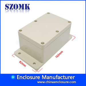 China SZOMK IP65 waterproof electrical junction box outdoor electrical junction box AK-B-9 162*82*65mm factory