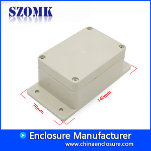 China SZOMK IP65 waterproof junction box for external cable connections AK-B-14 140*70*50mm factory