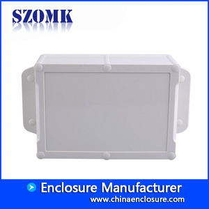 China SZOMK IP68 waterproof enclsoure ABS OEM plastic enclosure for electronics AK10008-A1 260*143*75mm factory