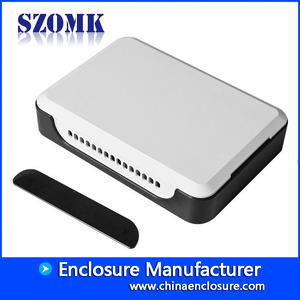 China SZOMK Plastic ABS Network WIFI Router Enclosure Boxes, AK-NW-31, 140*98*30mm factory