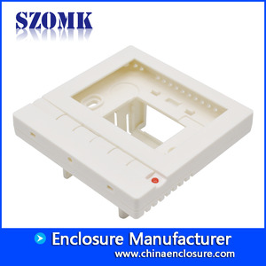 China SZOMK Plastic Enclosures for Alarm Smoke Sensor/ AK-N-23a/85x85x40mm factory