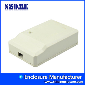 China SZOMK abs plastic pvc box LED enclosure for IOT device AK-N-15 43x66x17mm factory