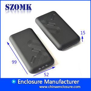 China SZOMK black handheld small plastic enclosure box for electronic equipment /AK-H-61 factory
