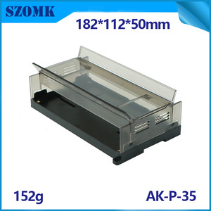 China SZOMK din-rail termail cases plastic electronic enclosure AK-P-35 factory
