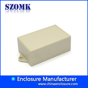 China SZOMK electronic enclosure  ABS plastic distribution box for sensors and PCB board AK-W-50 104 * 63 * 40mm factory