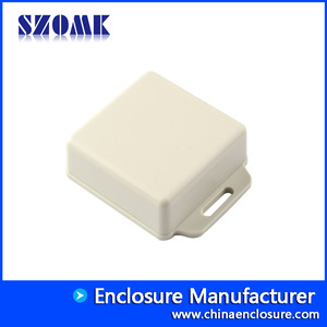China SZOMK electronic enclosure wall mounting ABS plastic case housing for PCB AK-W-44 51x51x20mm factory