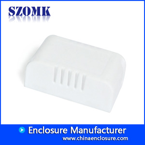 China SZOMK electronic junction box abs plastic enclosure smart home case housing for Led Driver Supply AK-8 56*32*21mm factory