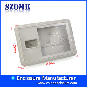 China SZOMK good quality plastic access control card reader device casing AK-R-155 155*105*29mm supplier factory