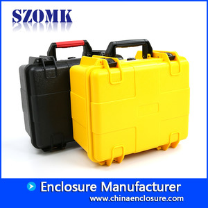 China SZOMK nice service ABS plastic tool case use temperature -30 to +90 degrees AK-18-02 280*246*156mm manufacturer factory