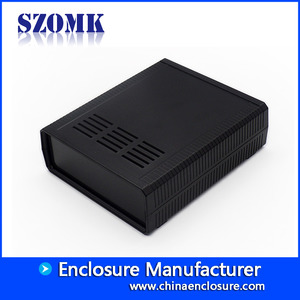 China SZOMK plastic Desktop Switch Box Enclosure For Electronics Instrument Husing Power Supply Electrical Enclosure AK-D-06 175*210*65mm factory