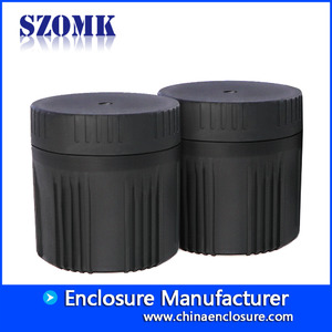 China SZOMK top selling outdoor IP68 custom abs waterproof plastic box electronic enclosure AK-N-73  97*103mm factory