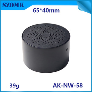 China SZOMK wireless smoker sensor plastic enclosure humidity and temperature sensor wireless geteway shell AK-NW-58 factory