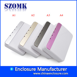 China SZOMK good quality abs plastic junction enclosure for net-work supply AK-NW-44 118X79X26 mm factory