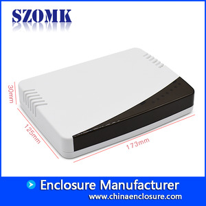 China plastic housing mould manufacturer for electronics products sozmk wifi enclosures AK-NW-12 173 * 125 * 30mm factory