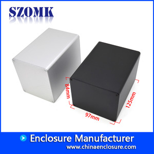 Кита Shenzhen high quality 125X97X84 mm normal aluminum junction enclosure supply/AK-C-B88 завод