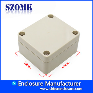 China Shenzhen high quality IP65 64X58X35 mm plastic waterproof enclosure supply/AK-B-20-Fabrik