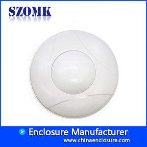 China Shenzhen high quality waterproof RFID round plastic enclosure for Smoke detector AK-R-158 110*51mm factory