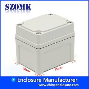 China SZOMK small plastic enclosure electronic IP66 waterproof junction box AK-AG-1 65*50*55mm factory