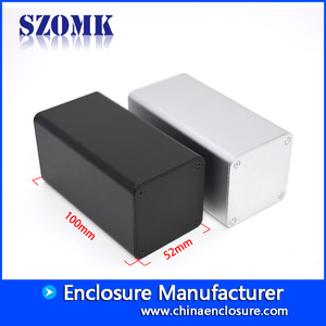 Кита Shenzhen new product 52X52X100 mm normal aluminum junction enclosure manufacture/AK-C-B86 завод