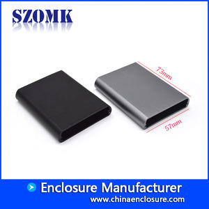 China Shenzhen new product 57X73X13 mm normal aluminum junction enclosure supply/AK-C-B85 factory