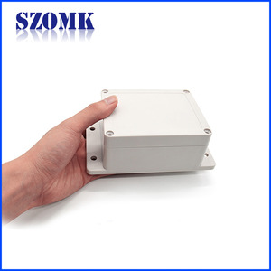 China SZOMK Wall Mounting IP65 Plastic Waterproof Enclosure AK-B-3B 115*88*55mm factory