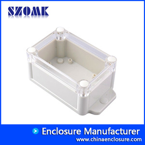China Very design plastic enclosure IP68 waterproof junction box AK10014-A2 128*70*52mm factory