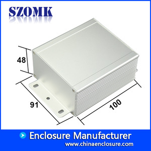 China Wall mounting extruded aluminum enclosure electric amplifier AK-C-C31 factory