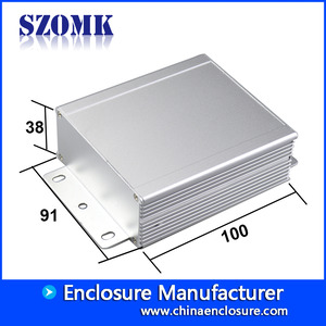China Wall mounting extruded aluminum enclosure electric amplifier AK-C-C33 factory