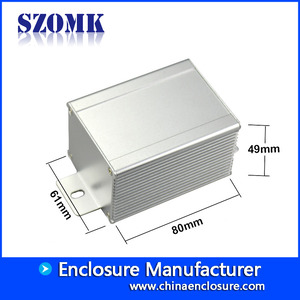 China Wall mounting extruded aluminum enclosure electric amplifier AK-C-C58 factory