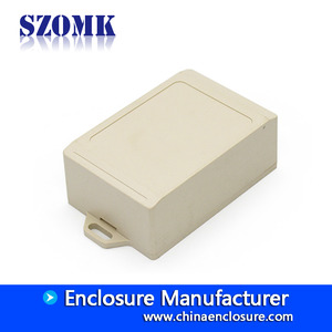 China White and black color little box small plastic terminal box connection enclosure case factory