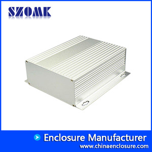 La fábrica de China brush anodizing aluminum extrusion profile housing enclosure