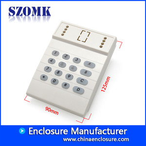 China cost saving door access control box with keypad detector housing size 125*90*35mm factory