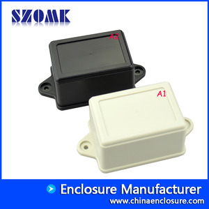 China electronics enclosures plastic abs junction box wall mounting AK-W-15, 70x50x40mm factory