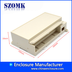 China high quality small industrial control box instrument power supply enclosure size 180*100*53 mm factory