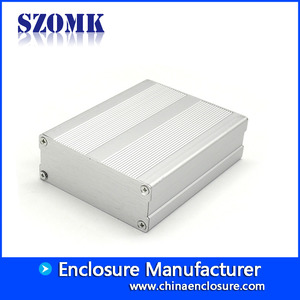 China hot sale anodized aluminum case Boutique integrated aluminum box for electronic project AK-C-B48 39*79*100mm factory