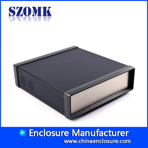 China new design precision iron box szomk electronics equipment enclosure AK40024 factory