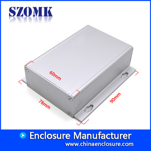 China new type electronic project aluminum enclosure AK-C-A39 98 * 78 * 27 factory