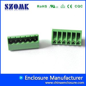 China pcb pluggable terminal block 5.08 mm   2EOMJC-5.08 factory