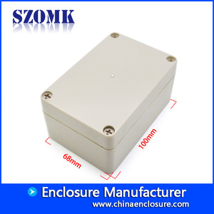 China plastic box electronics instrument housing plastic equipment box enclosure for pcb design AK-B-4 100*68*50 factory