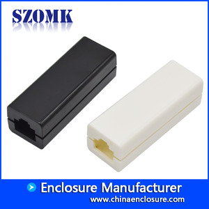 China plastic laptop usb switch network interface enclosure custom plastic ubs casing with 59*21*18mm factory