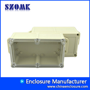 High quality low price IP68 plastic enclosure for electronics AK10003-A2 200*94*60 mm