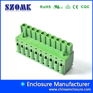 China pluggable screw terminal blocks  2EOMD-5.08 factory